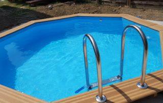 piscine bois semi enterrée Portet sur garonne