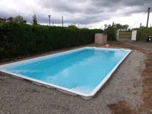 Hydrazur Piscines remblai raccordement hydraulique mise en service filtration piscine coque polyester à Portet sur Garonne 31120 Haute Garonne Toulouse