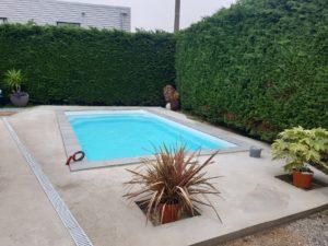 Réalisation plage béton piscine coque Tournefeuille 31170 Haute garonne 31