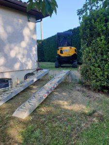 Terrassement piscine coque polyester Portet Sur Garonne 31120 Haute Garonne 31 Toulouse