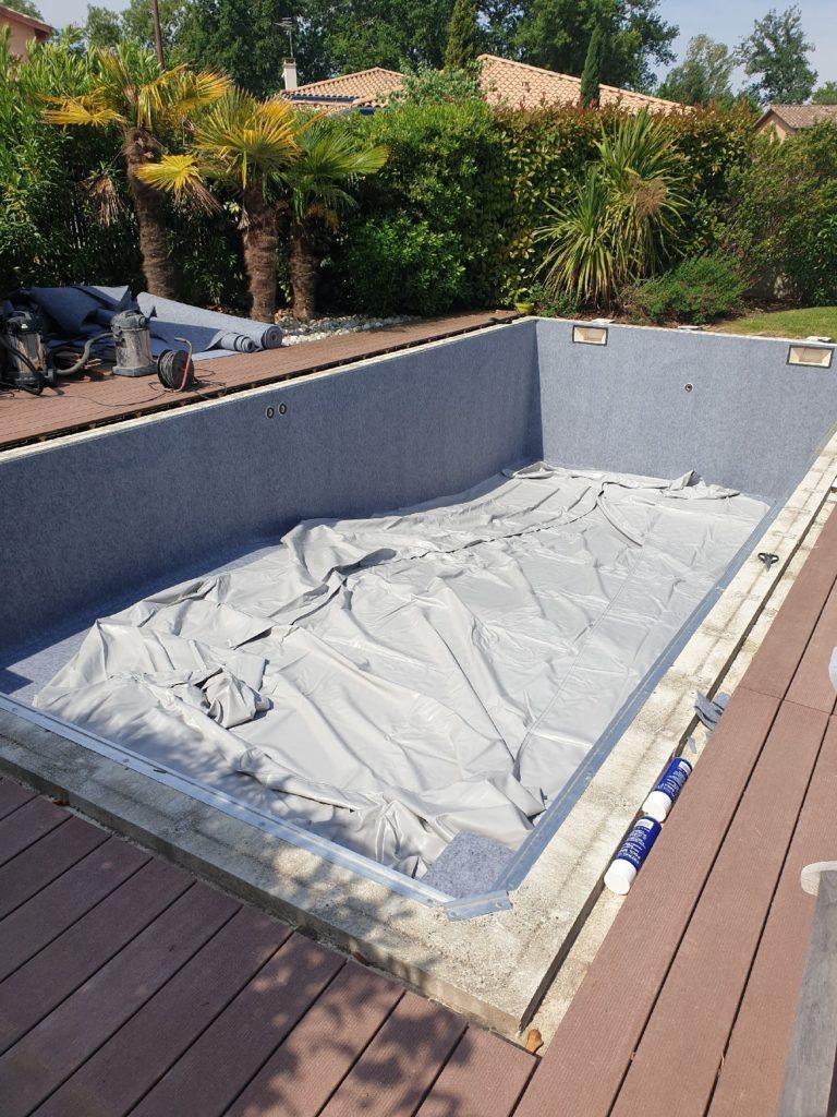 Rénovation piscine liner Toulouse 31100 Haute Garonne 31