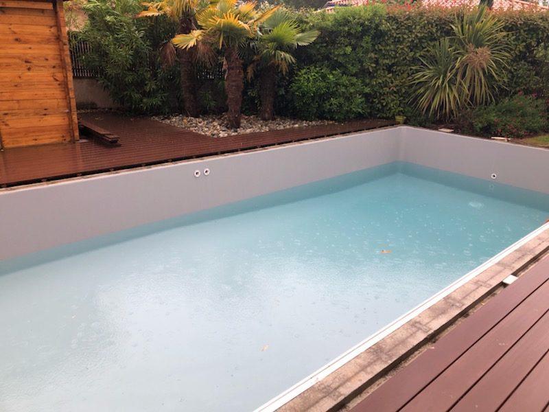 Remplissage piscine liner