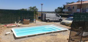 piscine coque polyester -10m2